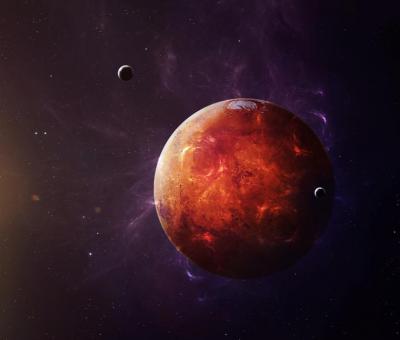 A Mars a Vízöntő jegyébe lép
