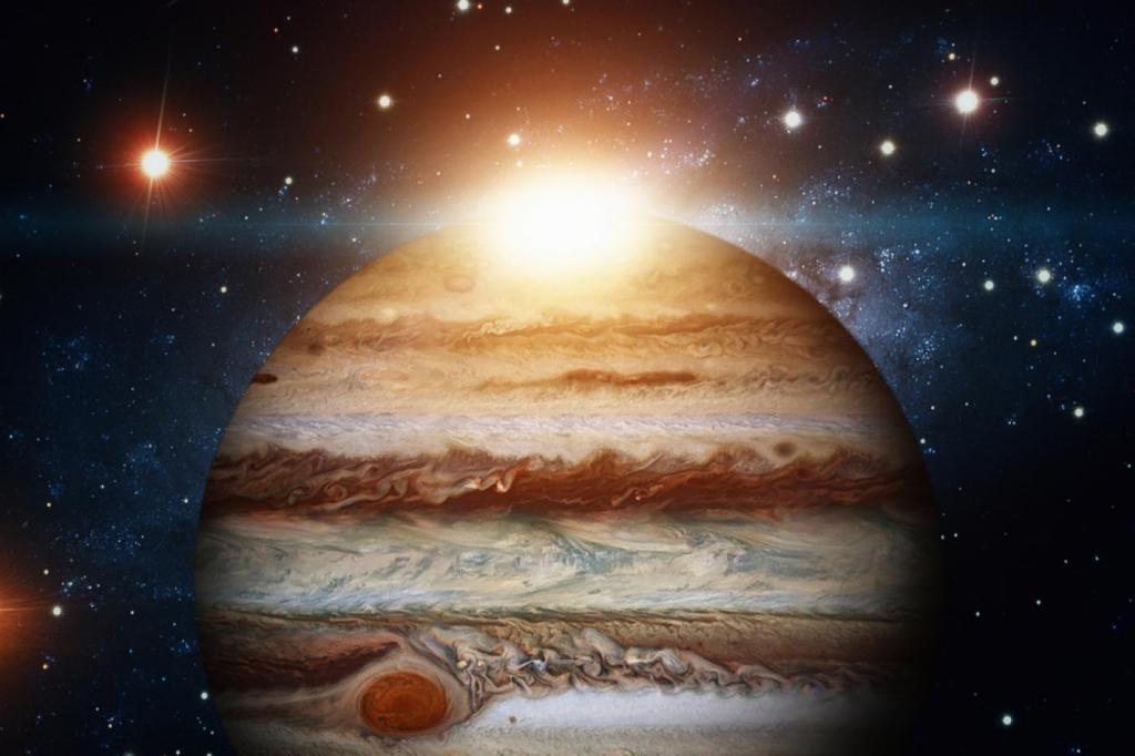 A Jupiter a nagy szerencse bolygója
