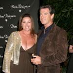 Pierce Brosnan és felesége, Keely