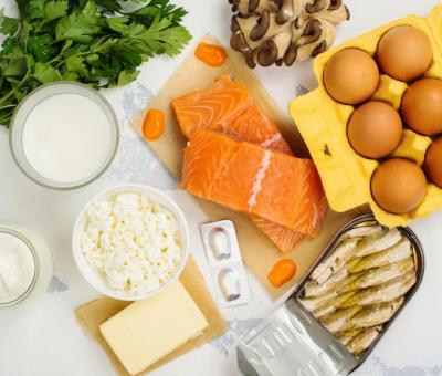 A legismertebb D-vitamin-tartalmú ételek atejtermékek, atojás, améz, ahal, amáj, agomba és az élesztő