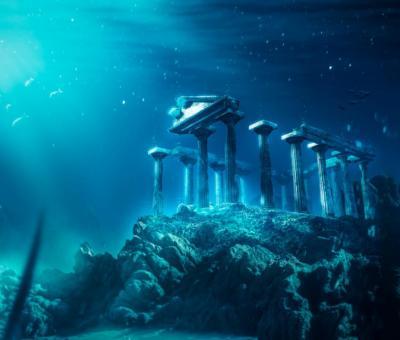 Atlantisz virágzásának állítólag egy váratlan természeti csapás vetett véget