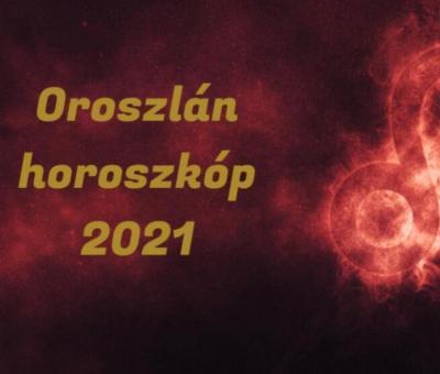 Oroszlán horoszkóp 2021. Erre számíthat a csillagjegy az új évben.