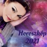 Vízöntő horoszkóp 2021 - Boldogság vár rád