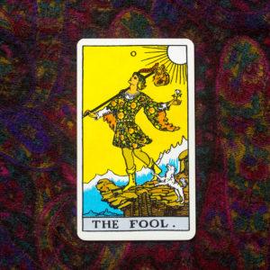 A Bolond tarot kártya