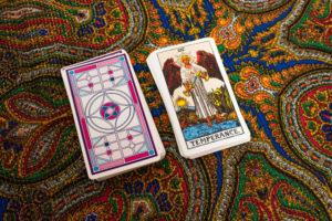 Az Egyensúly tarot kártya
