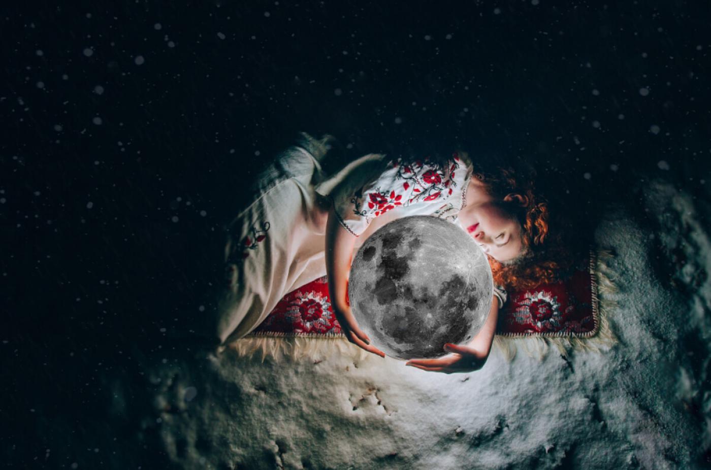 Szűz újhold
